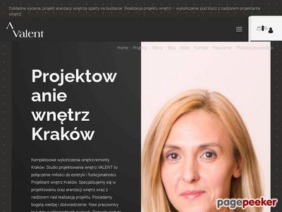 Aranżacje wnętrz Kraków - valent.pl