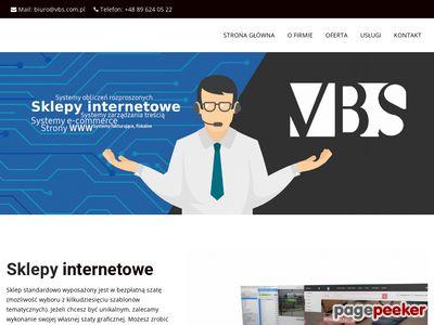 VBS Nowoczesne programy dla firm, sklepy internetowe