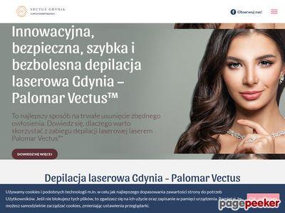 Depilacja Laser Palomar Vectus™