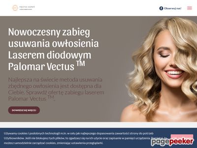 Usuwanie owłosienia laserem Vectus Sopot