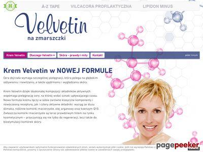 Krem przeciwzmarszczkowy - Velvetin