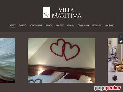 Pokoje Grzybowo - Villa Maritima