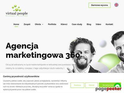 Virtualpeople.pl - tworzenie stron internetowych.