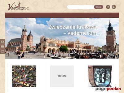 Vademecum - Zwiedzanie Krakowa - krok po kroku