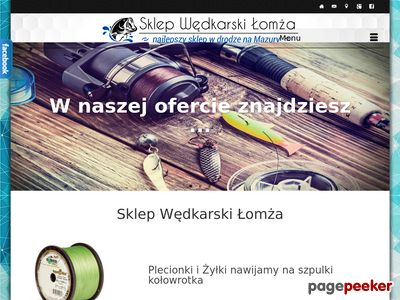 Sklep Wędkarski Łomża - Najlepszy sklep w drodze na Mazury - O Nas