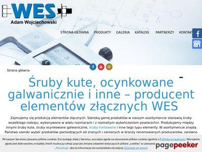 Www.wes.net.pl śruby ocynkowane ogniowo