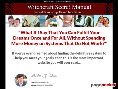 Witchcraft Secret Manual - Love and Money Spells