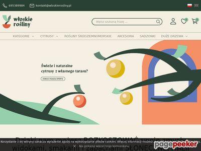Cytrusy i świeże zioła - wloskierosliny.pl