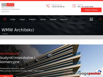 WMW ARCHITEKCI biuro projektowe Pruszków