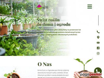DOM W OGRODZIE rośliny ogrodowe warszawa