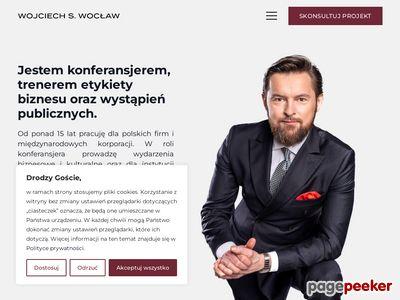 Wojciech S. Wocław - prowadzenie imprez Warszawa