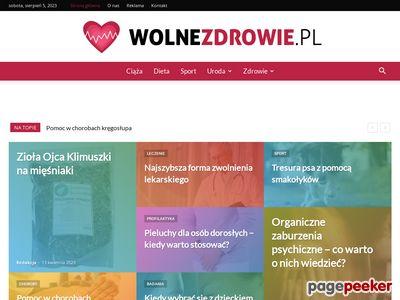 Wolnezdrowie.pl - witryna profitness