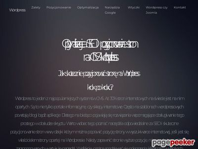 CMS - WordPress i Joomla!
