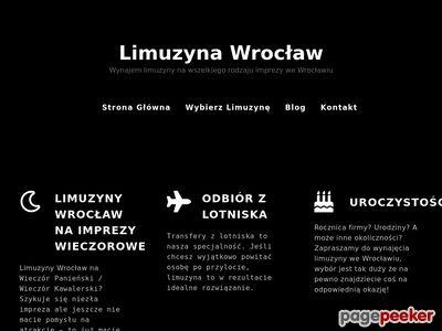 Wynajem limuzyny - Wrocław / Limo rental Wroclaw