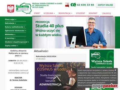 Studia wyższe Łódź