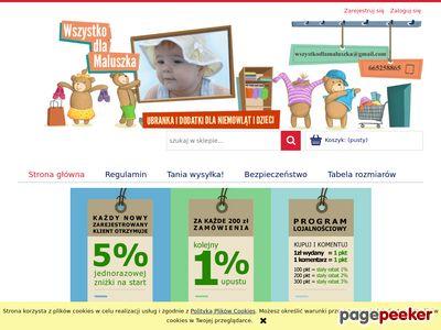 Tanie ubranka dla niemowląt | wszystkodlamaluszka