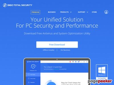 http://www.360totalsecurity.com/ website snapshot