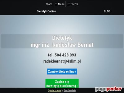 4 Slim Dobry Dietetyk Wrocław i online
