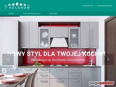 Witraże oraz ekrany kuchenne - Producent