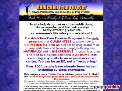 Addiction Free Forever