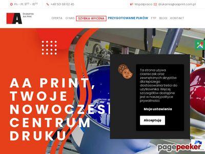 Firma poligraficzna AA Print S.C. - Katowice