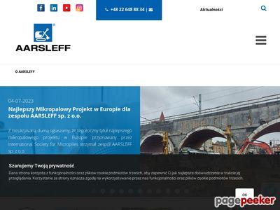 Odwodnienia wykopów AARSLEFF SP. Z O.O.