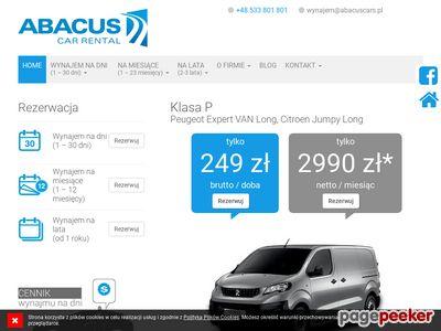 ABACUS wypożyczalnia samochodów