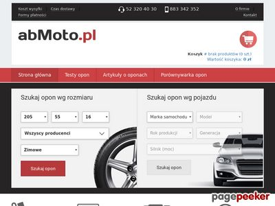 Tanie opony letnie na abmoto.pl