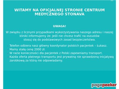 Klinika Ginekologiczna Słowacja - aborcja.cz