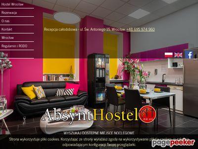 Nocleg we Wrocławiu - Absynt Hostel