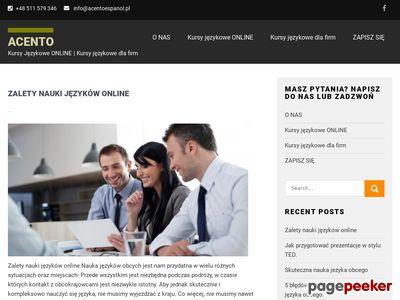 Szkolenia językowe dla firm Warszawa | Angielski, Hiszpański