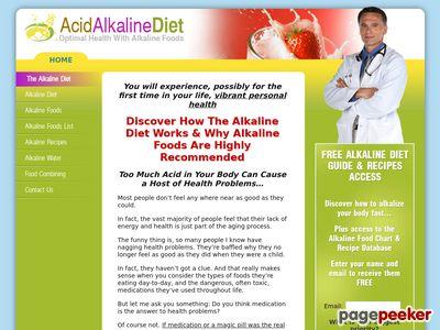 Alkaline Foods & Alkaline Diet