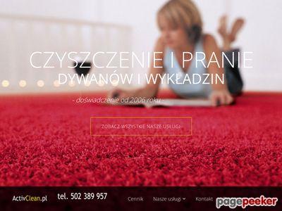 pranie dywanów Toruń