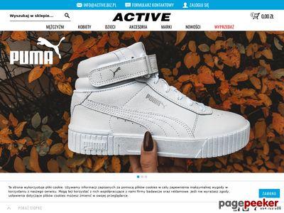 Active - sklep z odzieżą sportową