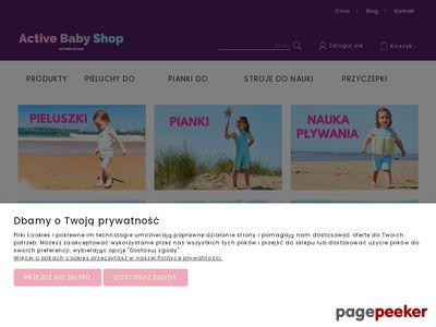Neoprenowe pieluchy na basen dla dzieci i niemowląt