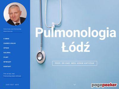 Adamantczak.pl Łódź - choroby płuc