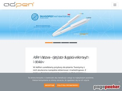 Adpen.com.pl ołówki reklamowe