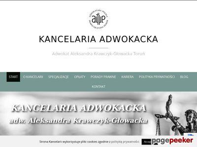 Adwokat z Torunia