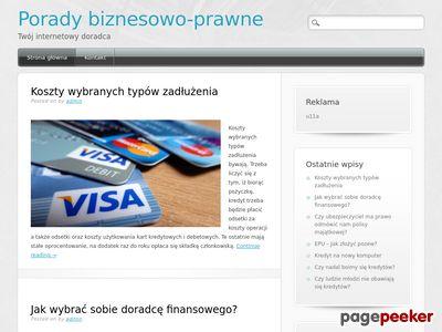 P. Bujniak - porady prawne