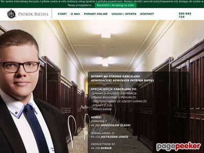 Adwokat Patryk Riedel
