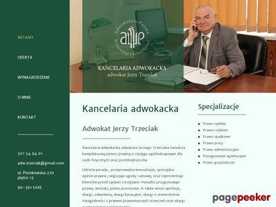 Kancelaria Adwokacka Łódź - adwokat Jerzy Trzeciak