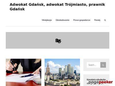 MACIEJ WŁODARCZYK obsługa prawna firm Gdańsk