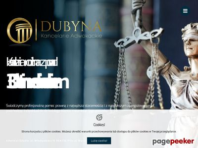 Adwokat Adam Dubyna Kancelaria Adwokacka