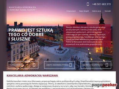 Kamil Flatow - kancelarie adwokackie w Warszawie