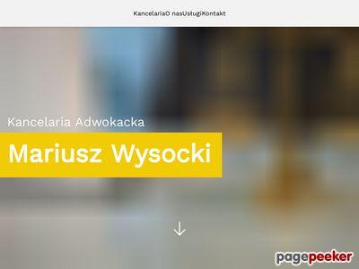 MARIUSZ WYSOCKI odszkodowanie Wrocław