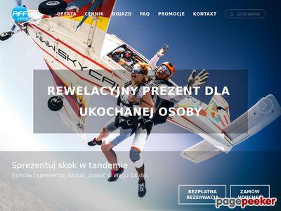 Skoki spadochronowe Warszawa