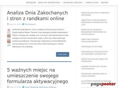 Afilioteka - serwis o reklamie w wyszukiwarkach