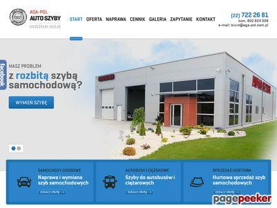 Wymiana szyb w samochodach ciężarowych - aga-pol.com.pl