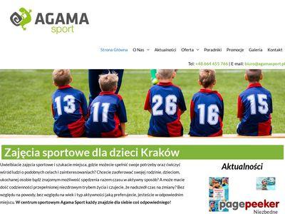 Zajęcia sportowe w Agama Sport