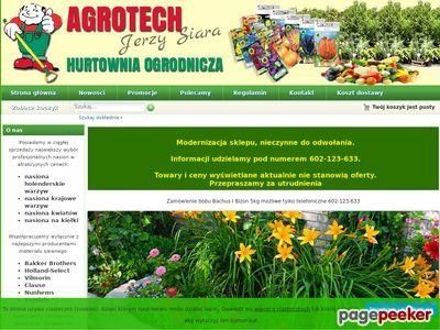 Nasiona holenderskie warzyw i kwiatów